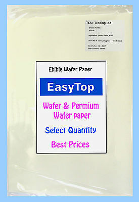 A4 Edible Wafer Rice Paper & Premium For Cake Cakes Cupcake Toppers Best Prices