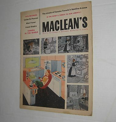 Maclean's - Canada's National Magazine - July 6, 1957