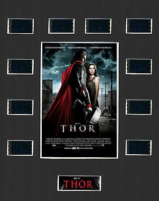 THOR - 2011  MOUNTED 35mm FILM MOVIE CELL GREAT GIFT