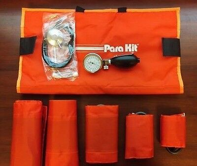 NEW BMS Para Kit | Aneroid with 5 Blood Pressure Cuffs and Stethoscope