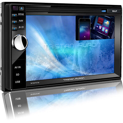 AUTORADIO GPS DAB+ NAVIGATION mit BLUETOOTH TOUCHSCREEN USB SD MP3 Doppel 2DIN