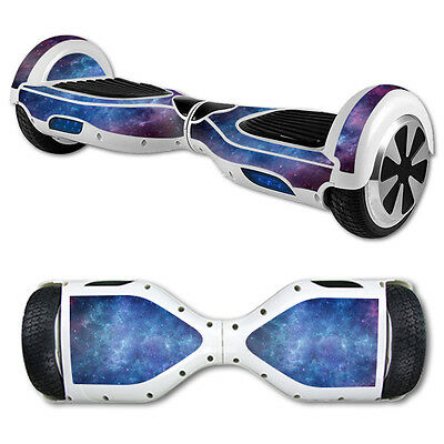 Skin Decal Wrap for Hover Board Balance Balancing Scooter Nebula