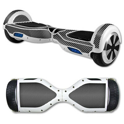 Skin Decal Wrap for Hover Board Balance Balancing Scooter Carbon Fiber
