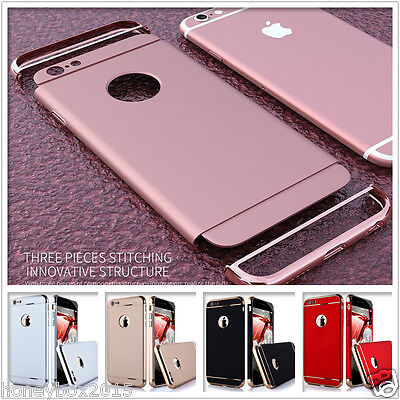Luxury Armor Shockproof Combination Hard Back Cover case For iPhone 5s 6 7 Plus