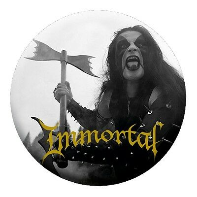 Immortal - Abbath  Button Neuf