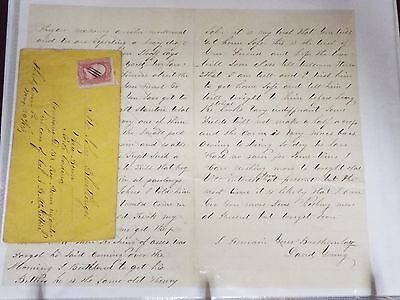 1863 ALS to John Blentlinger from his brother in law - Civil War