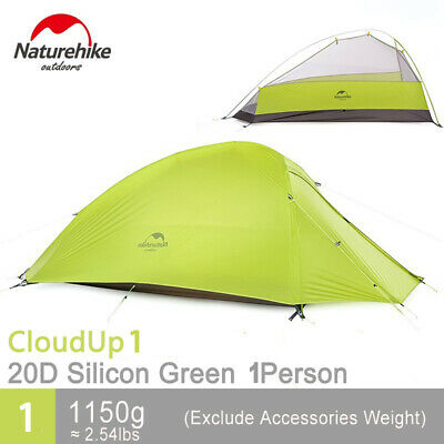 Naturehike 1 Person Outdoor Tent Double-layer Tent Camping Tent L NH15T001-T20D