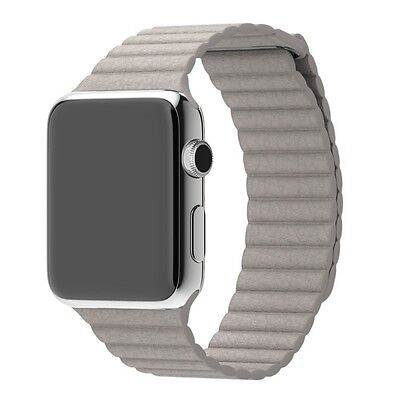 Mobiletto Apple Watch 38mm Magnetic Loop Armband stone