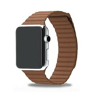 Mobiletto Apple Watch 38mm Magnetic Loop Armband braun