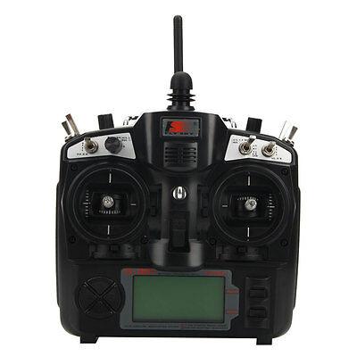 FlySky FS-TH9X 9CH 2.4G Transmitter for RC Helicopter/Airplane Mode 1 Right hot