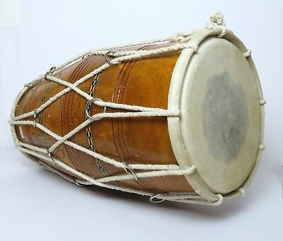 Dholak Indische Trommel  Stimmbar  Robust Strings