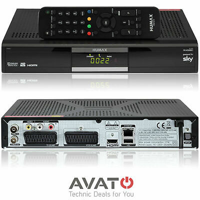 HUMAX PR-HD2000C Digital Kabelreceiver DVB-C HDMI SKY & HD+ KABEL Deutschland