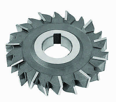 "3 x 3/16 x 1"" HSS Side Milling Cutter - Staggered Tooth"