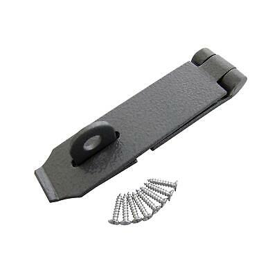 "5.5"" x 1.5 Inch Heavy Duty Hasp and Staple For Door and Security Locks Shed Door"