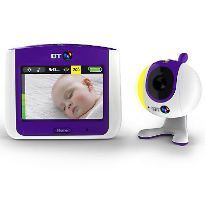 """BT 3.5"""" Touchscreen Video Baby Monitor 7000 with 19 Lullabies"""