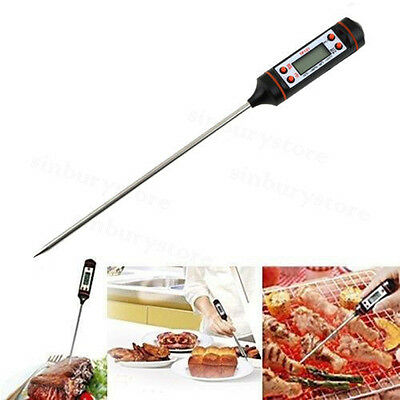 Kitchen Craft Stainless Steel Cooking Thermometer Jam Sugar Deep Oil Frying UK