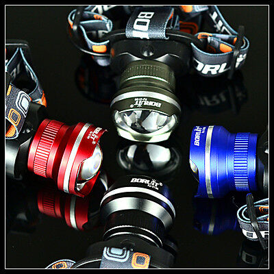 Hunting 5000Lm XML T6 LED 3AA  Lampe Phare Frontale Zoom Headlamp lampe de poche