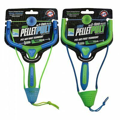 Preston Innovations Pellet Pult Catapults, Small, Large and Pinpoint Groundbait