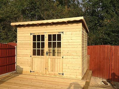 6x4 Pent Summer house Shed Workshop