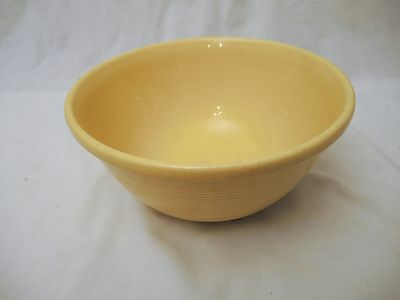 Vintage Pacific Pottery/california Pottery Yellow Mixing Bowl
