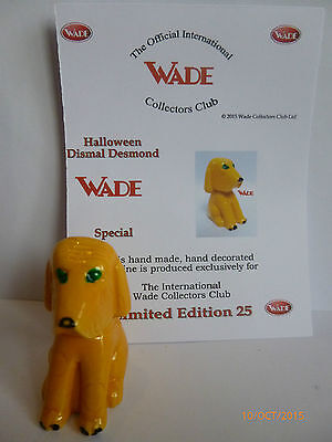 Wade Whimsie New Release Halloween Dismal Desmond Le 25