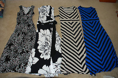Lot of 4 Maxi Dress sizes Small/Medium