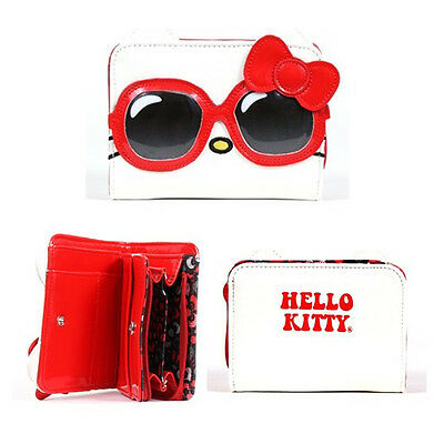 Hello Kitty Red Sunglasses Wallet