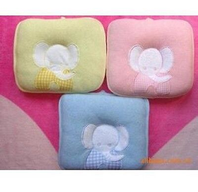 For Baby Infant Toddler Sleeping Support Elephant Shape Pillow Prevent Flat Head