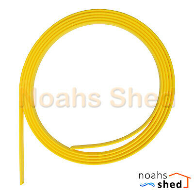 Yellow Tongue Cable Wall Snake Puller Push Electric Wire Nylon Fish Tape Rod