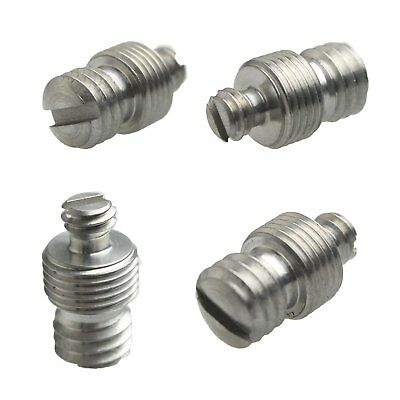"""1/4"""" Female to 3/8"""" Male to M10 Threaded screw Adapter for Tripod/Monopod 53#"""