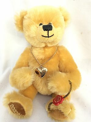 Hermann Bear limited edition 294/2000 with heart and stud