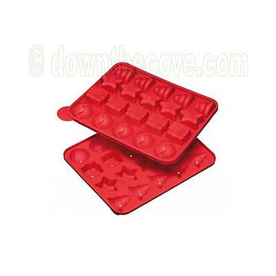 Kitchen Craft 'Sweetly Does It' Silicone Xmas Cake Pop Mould - Christmas Shapes