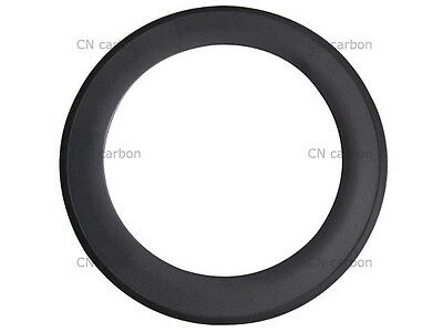 1pcs x 88mm Depth Clincher carbon road bicycle rim 20.5,23,25m width available