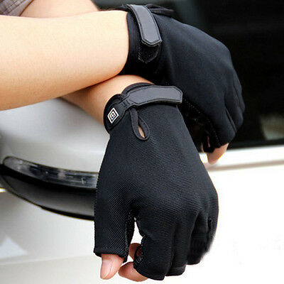 Mens Gym Gloves Bicycle Half/Full Finger Gloves Outdoor Camping Hiking Gloves