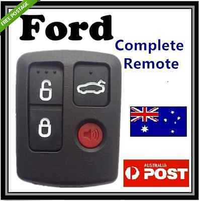 Ford BA BF Falcon Sedan Wagon Central Locking Keyless Car Remote 4 Button