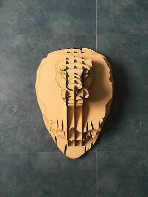 Large Lion Trophy Animal Head 3D Wall Art Decor - Wall Hanging Home Decor Africa