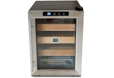 The Clevelander Electronic Cigar Cooler Humidor w/ Digital Hygrometer