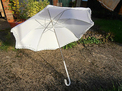 White Vintage PARASOL Sweet Lolita umbrella