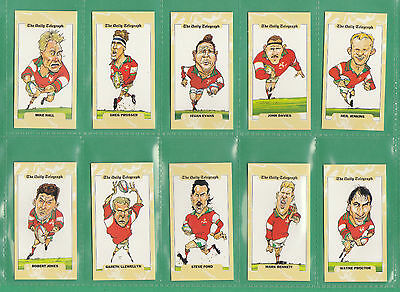 Rugby World Cup - 500 Beautiful Sets Of 26  - Wales  Rugby  World  Cup  1995