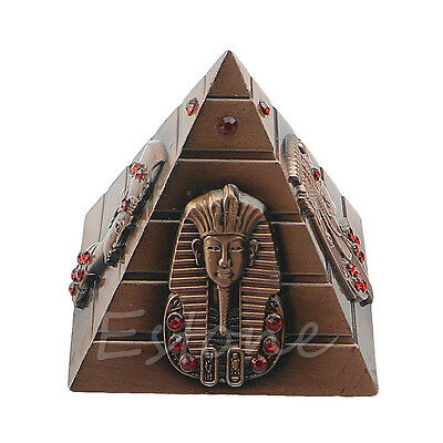 Egyptian Pharaoh Decorative Pharaoh Avatar Camel Metal Pyramids Ornament Antique