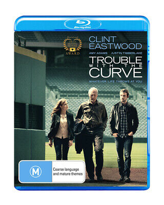 Trouble With The Curve (Clint Eastwood)  Blu-Ray Region B