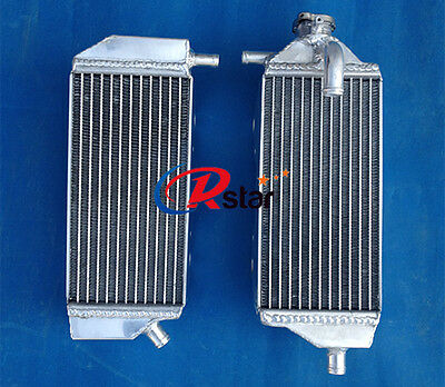 Left No Cap Side Aluminum Radiator Yamaha YZ250F 2014-2018 YZ450F 2014-2017
