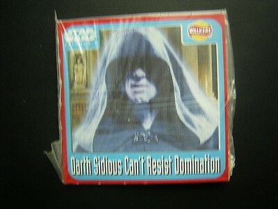 Walkers 1999 Star Wars Episode One 1 Scratch Card Sealed  Darth Sidius (E11)