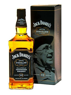 JACK DANIEL'S MASTER DISTILLER Series N° 2 Whisky CL. 70 Limited Edition Whiskey