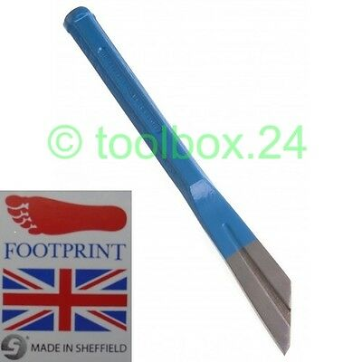 Genuine FOOTPRINT Heavy Duty Plugging Chisel - Mortar Cement Pointing Remover