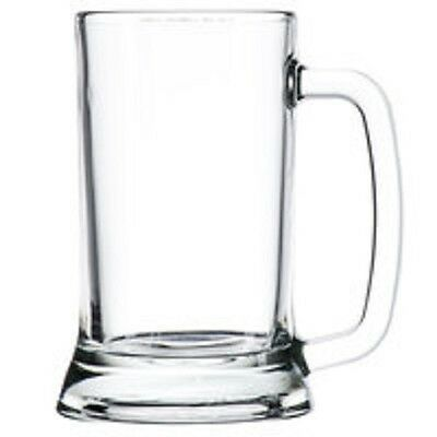 Personalized Etched Glass Beer Mug, Create Your Own Design