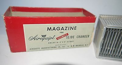 Vintage Magazine for Airequipt Automatic Slide Changer Holds 36 Slides 2 x 2 sz