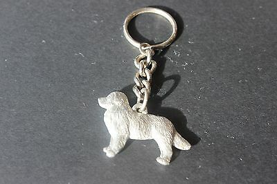 GG Harris Pewter Key Chain 1999 Bernese Mountain Dog