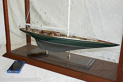 Museum Quality Model boat hand made yacht  - Shamrock V 1930 Americas Cup