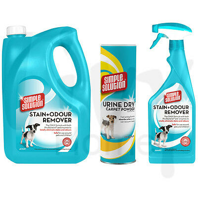 Simple Solution Stain & Odour Remover for Dogs Bundle